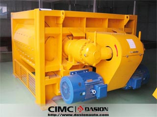 Twin-shaft Concrete Mixer